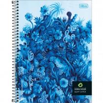 Imagem - Caderno Espiral Capa Dura Universitário 10 Matérias Instituto Rodrigo Mendes 160 Folhas - Sortido (Pacote com 4 unidades)...
