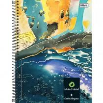 Imagem - Caderno Espiral Capa Dura Universitário 10 Matérias Instituto Rodrigo Mendes 200 Folhas - Sortido (Pacote com 4 unidades)...