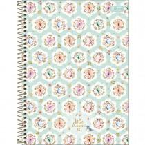 Imagem - Caderno Espiral Capa Dura Universitário 10 Matérias Jolie Classic 160 Folhas (Pacote com 4 unidades) - Sortido...