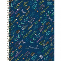 Imagem - Caderno Espiral Capa Dura Universitário 10 Matérias Le Vanille 160 Folhas (Pacote com 4 unidades) - Sortido...