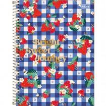 Imagem - Caderno Espiral Capa Dura Universitário 10 Matérias Little Garden 160 Folhas (Pacote com 4 unidades) - Sortido...