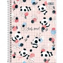 Imagem - Caderno Espiral Capa Dura Universitário 10 Matérias Lovely Friend 160 Folhas (Pacote com 4 unidades) - Sortido...