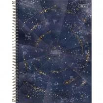 Imagem - Caderno Espiral Capa Dura Universitário 10 Matérias Magic 160 Folhas - Blame My Horoscope - Sortido