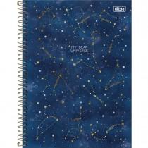 Imagem - Caderno Espiral Capa Dura Universitário 10 Matérias Magic 160 Folhas - My Dear Universe - Sortido