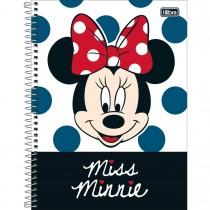 Imagem - Caderno Espiral Capa Dura Universitário 10 Matérias Minnie Light 160 Folhas (Pacote com 4 unidades) - Sortido...