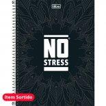 Imagem - Caderno Espiral Capa Dura Universitário 10 Matérias No Stress 200 Folhas - Sort...