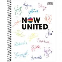 Imagem - Caderno Espiral Capa Dura Universitário 10 Matérias Now United 160 Folhas - Sortido