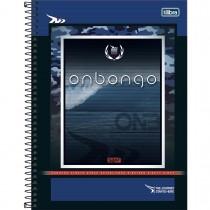 Imagem - Caderno Espiral Capa Dura Universitário 10 Matérias Onbongo 160 Folhas (Pacote com 4 unidades) - Sortido...