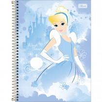 Imagem - Caderno Espiral Capa Dura Universitário 10 Matérias Princesas Light 160 Folhas (Pacote com 4 unidades) - Sortido...