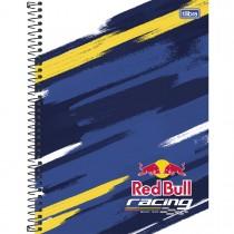 Imagem - Caderno Espiral Capa Dura Universitário 10 Matérias Red Bull 200 Folhas - Sortido (Pacote com 4 unidades)...