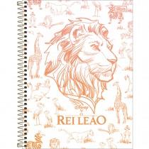 Imagem - Caderno Espiral Capa Dura Universitário 10 Matérias Rei Leão 160 Folhas - Sortido