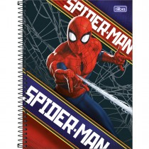 Imagem - Caderno Espiral Capa Dura Universitário 10 Matérias Spider-Man 160 Folhas (Pacote com 4 unidades) - Sortido...