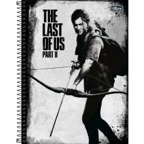 Imagem - Caderno Espiral Capa Dura Universitário 10 Matérias The Last of Us 160 Folhas - Sortido