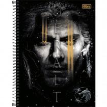 Imagem - Caderno Espiral Capa Dura Universitário 10 Matérias The Witcher 160 Folhas - Sortido