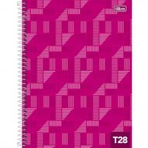Imagem - Caderno Espiral Capa Dura Universitário 10 Matérias Tilibra 28 200 Folhas - Sortido (Pacote com 4 unidades)...