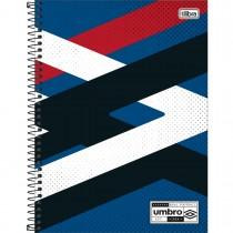 Imagem - Caderno Espiral Capa Dura Universitário 10 Matérias Umbro 160 Folhas - Sortido (Pacote com 4 unidades)...