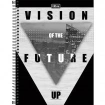 Imagem - Caderno Espiral Capa Dura Universitário 10 Matérias UP 160 Folhas - Sortido