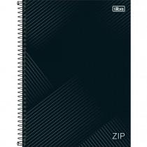 Imagem - Caderno Espiral Capa Dura Universitário 10 Matérias Zip 200 Folhas (Pacote com 4 unidades) - Sortido