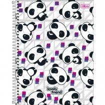 Imagem - Caderno Espiral Capa Dura Universitário 16 Matérias Lovely Friend - 320 Folhas ...
