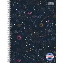 Imagem - Caderno Espiral Capa Dura Universitário 16 Matérias Pepper Feminino 256 Folhas - Sortido