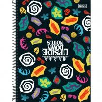 Imagem - Caderno Espiral Capa Dura Universitário 16 Matérias Stranger Things 256 Folhas - Sortido