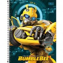 Imagem - Caderno Espiral Capa Dura Universitário 16 Matérias Transformers 256 Folhas - Sortido