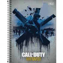 Imagem - Caderno Espiral Capa Dura Universitário 20 Matérias Call of Duty 400 Folhas - Sortido