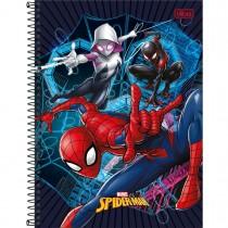 Imagem - Caderno Espiral Capa Dura Universitário 20 Matérias Spider-Man Light 320 Folhas - Sortido