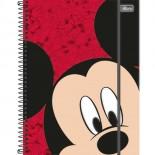 Imagem - Caderno Espiral Capa Dura Universitário 5 Matérias Mickey Top Digi 160 Folhas