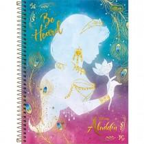 Imagem - Caderno Espiral Capa Dura Universitário Aladdin 1 Matéria 80 Folhas (Pacote com 4 unidades) - Sortido...