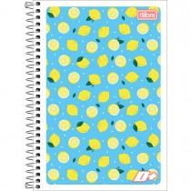 Imagem - Caderno Espiral Capa Flexível 1/4 D+ 96 Folhas (Pacote com 10 unidades) - Sortido