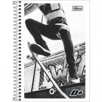 Imagem - Caderno Espiral Capa Flexível 1/4 D+ 96 Folhas - Sortido (Pacote com 10 unidades)