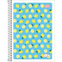 Caderno Espiral Capa Flexível Universitário 1 Matéria D+ Feminino 96 Folhas (Pacote com 5 unidades) - Sortido