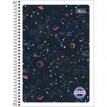 Imagem - Caderno Espiral Capa Flexível Universitário 1 Matéria Pepper Feminino 80 Folhas (Pacote com 4 unidades) - Sortido...