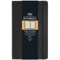 Imagem - Caderno Executivo com Pauta Costurado Capa Dura Grande Cambridge 80 Folhas