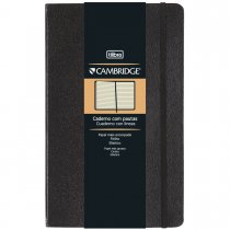 Imagem - Caderno Executivo Costurado Grande com Pauta Cambridge - 80 Folhas