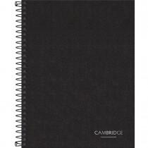 Imagem - Caderno Executivo Espiral Capa Dura Colegial Cambridge 90 Gramas 80 Folhas
