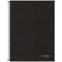 Imagem - Caderno Executivo Espiral Capa Dura Universitário Cambridge 80 Folhas