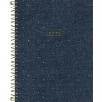 Imagem - Caderno Executivo Espiralado Capa Dura Cambridge Denim - 80 Folhas - Sortido