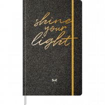 Caderno Executivo Pontilhado Costurado Capa Dura Fitto G Cambridge Shine 80 Folhas - Sortido