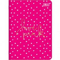 Imagem - Caderno Grampeado Flexível Love Pink 32 Folhas