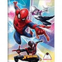 Imagem - Caderno Quadriculado 1x1 cm Brochura Capa Dura Spider-Man 40 Folhas (Pacote com 5 unidades) - Sortido...
