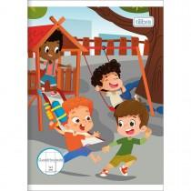 Imagem - Caderno Quadriculado 1x1 cm Brochura Capa Flexível 1/4 Sapeca 40 Folhas (Pacote com 20 unidades) - Sortido...