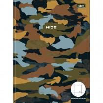 Imagem - Caderno Quadriculado 2x2 cm Brochura Capa Dura Hide 40 Folhas (Pacote com 4 unidades) - Sortido