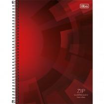 Imagem - Caderno Quadriculado 5x5 mm Espiral Capa Dura Universitário Zip 80 Folhas (Paco...