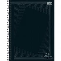 Imagem - Caderno Quadriculado 5x5 mm Espiral Capa Dura Universitário Zip 80 Folhas (Pacote com 4 unidades) - Sortido...