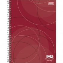 Imagem - Caderno Quadriculado 5x5 mm Espiral Capa Dura Universitário Zip 96 Folhas (Pacote com 4 unidades) - Sortido...