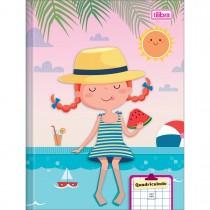 Imagem - Caderno Quadriculado 7x7 mm Brochura Capa Dura Sapeca 40 Folhas - Sortido (Pacote com 8 unidades)