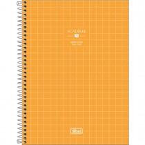Imagem - Caderno Quadriculado 7x7 mm Espiral Capa Dura Universitário Académie Feminino 96 Folhas (Pacote com 4 unidades) - Sortido...