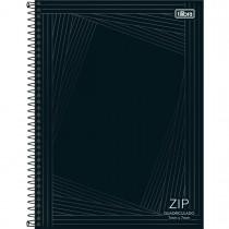 Imagem - Caderno Quadriculado 7x7 mm Espiral Capa Dura Universitário Zip 80 Folhas (Pacote com 4 unidades) - Sortido...